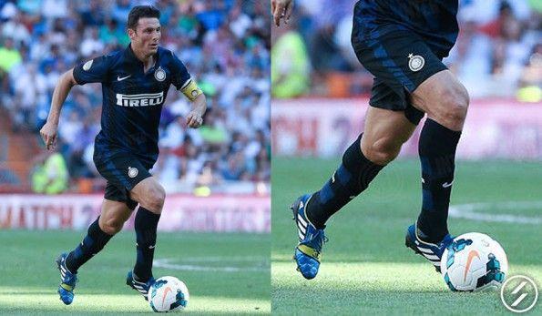 Javier Zanetti con le Nitrocharge 1.0