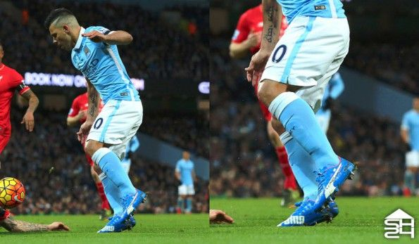 Sergio Aguero (Manchester City) - Puma EvoSpeed SL