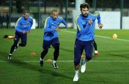 Allenamento Barcellona