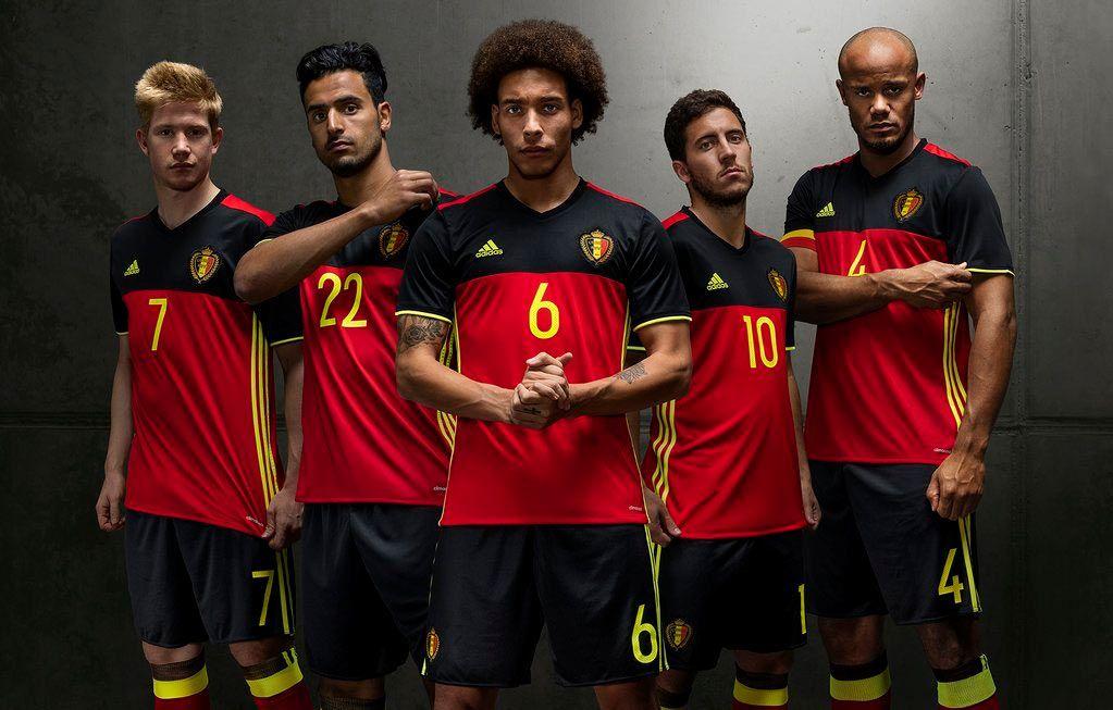 Kit Belgio Europei 2016