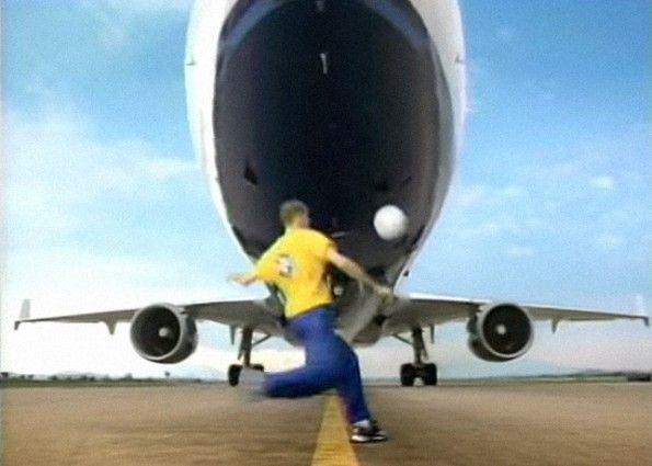 Pubblicità Brasile aeroporto