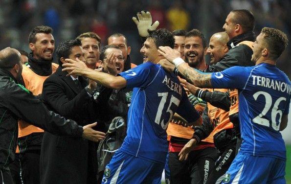 Francesco Acerbi festa gol