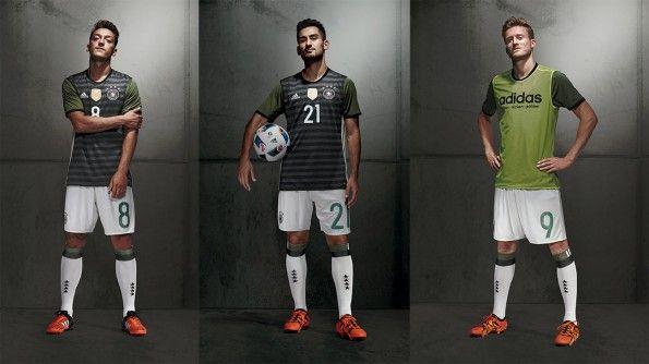 Seconda maglia Germania 2016 Europei