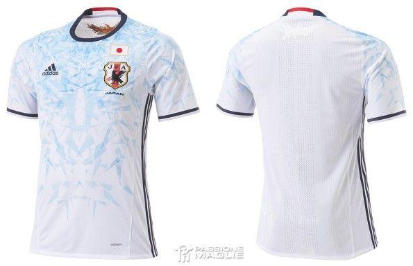 Seconda maglia Giappone 2016-2016 bianca
