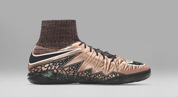 Scarpe HypervenomX calcetto bronzo