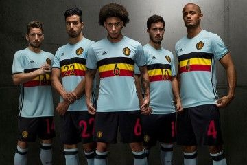 Kit Belgio away Euro 2016
