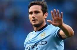 Lampard con il Manchester City