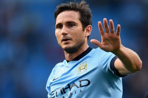 Lampard con il Manchester City