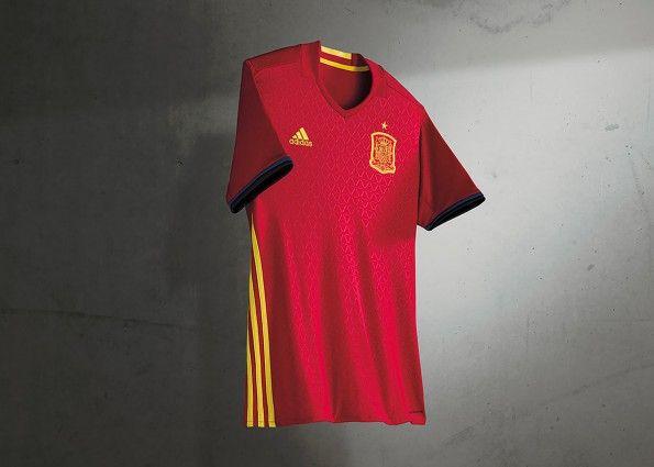Maglia Spagna Europei 2016 adidas