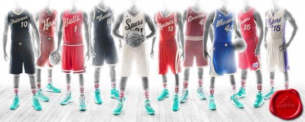 Maglie NBA Natale 2015 adidas