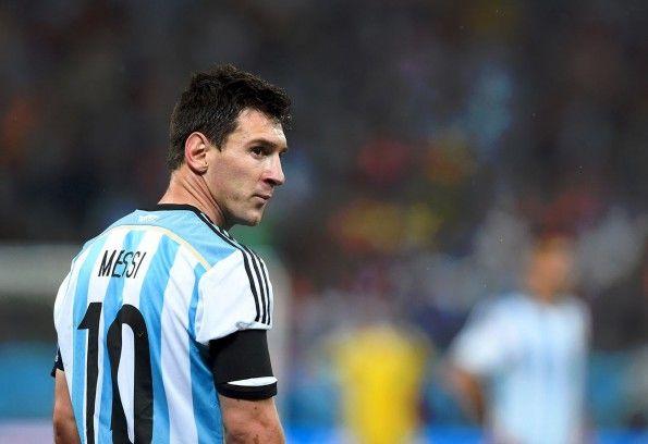 Messi ai Mondiali 2014