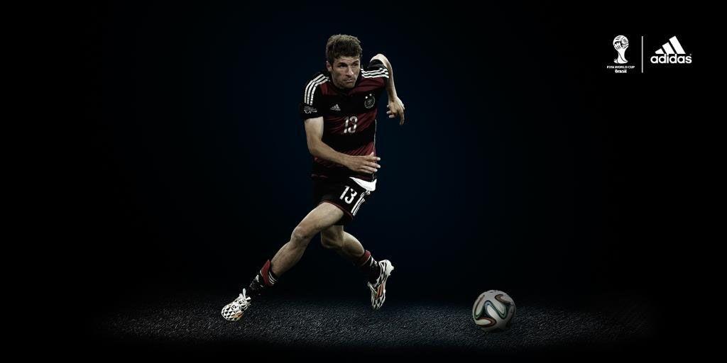Muller sponsor adidas