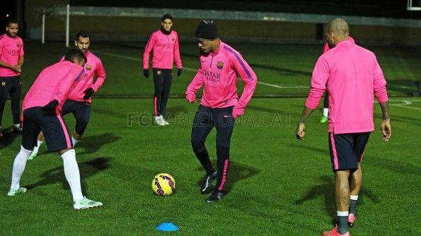 Neymar allenamento Hypervenom II