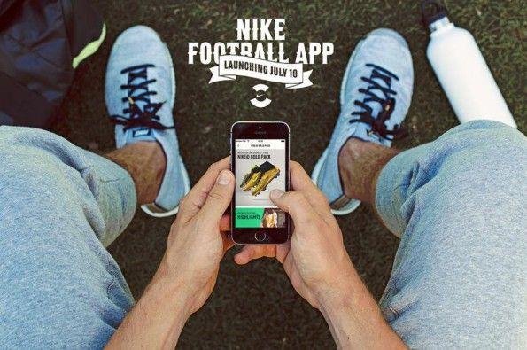 Lancio App Nike Football ufficiale