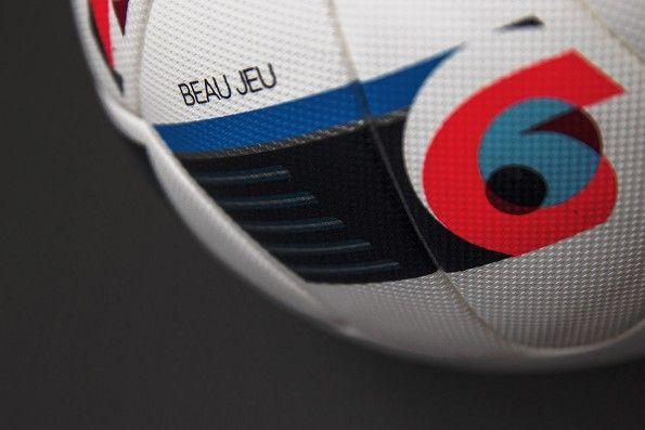 Dettaglio pallone ufficiale Euro 2016