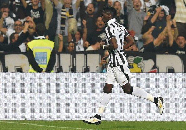 Pogba in Juventus-Sassuolo