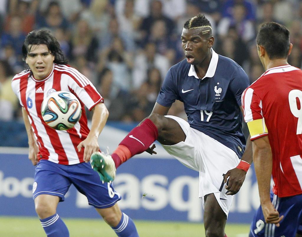Paul Pogba con la maglia della Francia