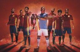 Presentazione maglia Spagna Europei 2016