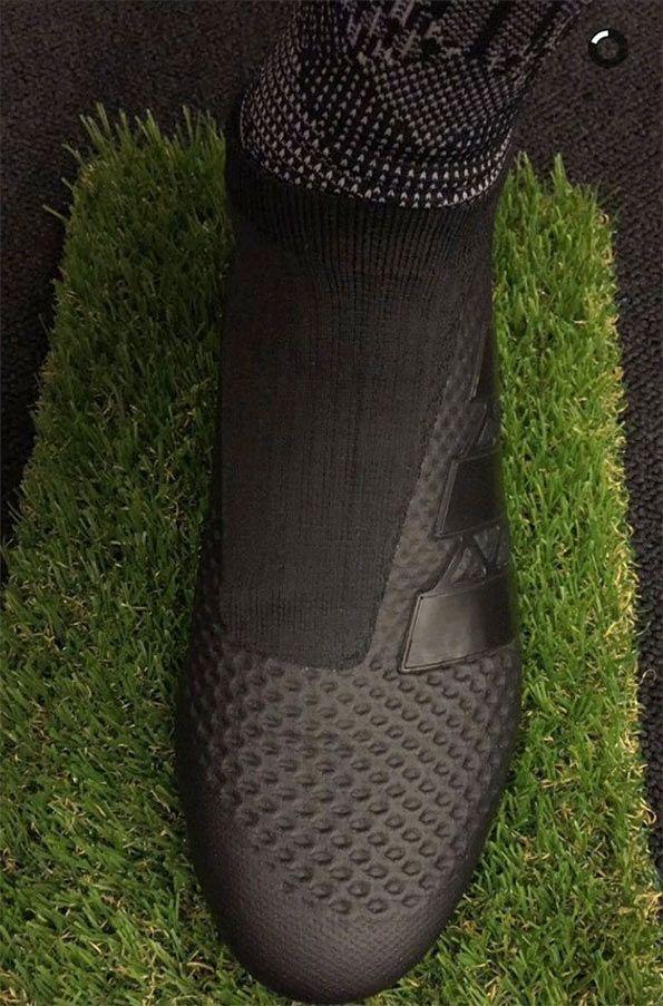 Zoom scarpe ACE16 adidas black