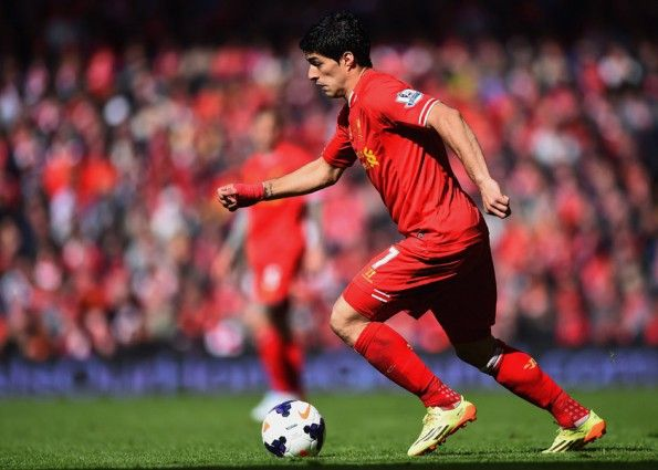 Luis Suarez ai tempi del Liverpool