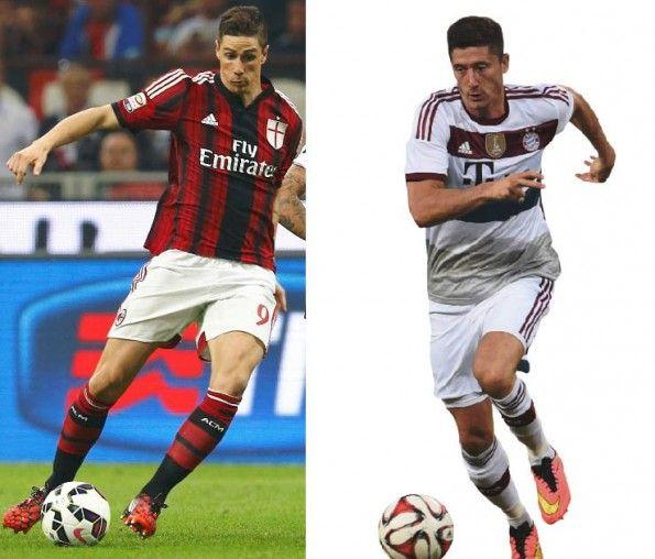 Torres e Lewandowski