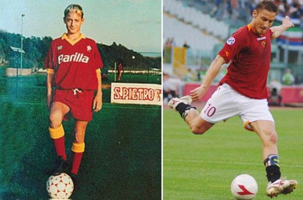 Scarpini calcio Francesco Totti