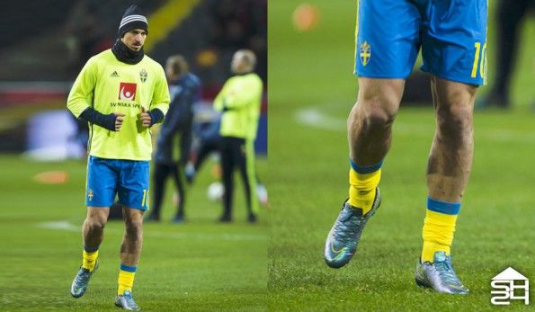 Zlatan Ibrahimovic (Svezia) - Nike Mercurial Vapor X