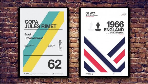 Poster Cile 1962 Inghilterra 1966