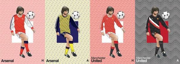 Arsenal Manchester United Home Away