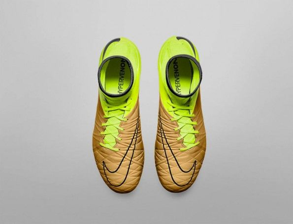 Hypervenom Phantom II Tech Craft marrone-giallo