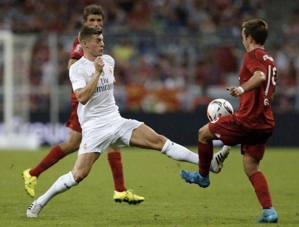 Kroos in Real Madrid-Bayern Monaco