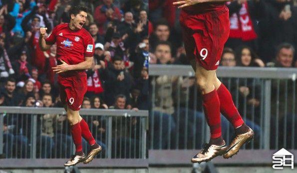 Robert Lewandowski (Bayern Monaco) - Nike HyperVenom Phantom II