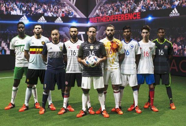 Maglie away adidas Euro 2016