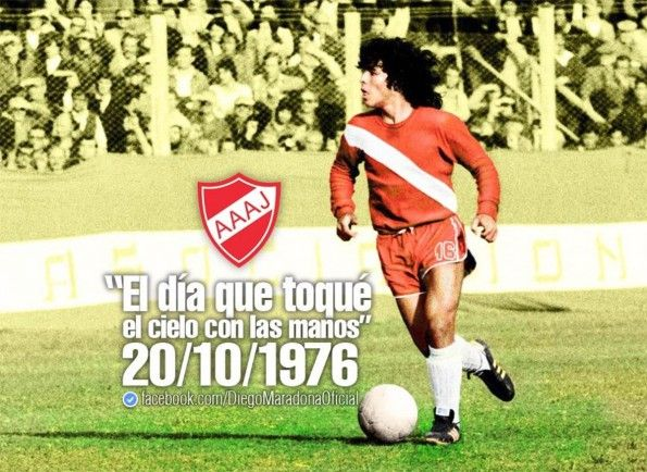 Maradona all'Argentinos Juniors