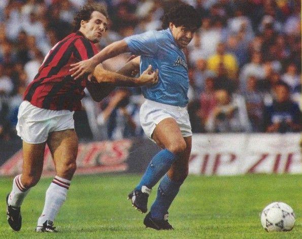 Maradona al Napoli, scarpe Puma King
