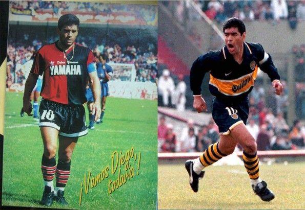 Maradona al Newell's Old Boys e al Boca