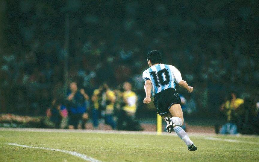 Le scarpe da calcio di Maradona