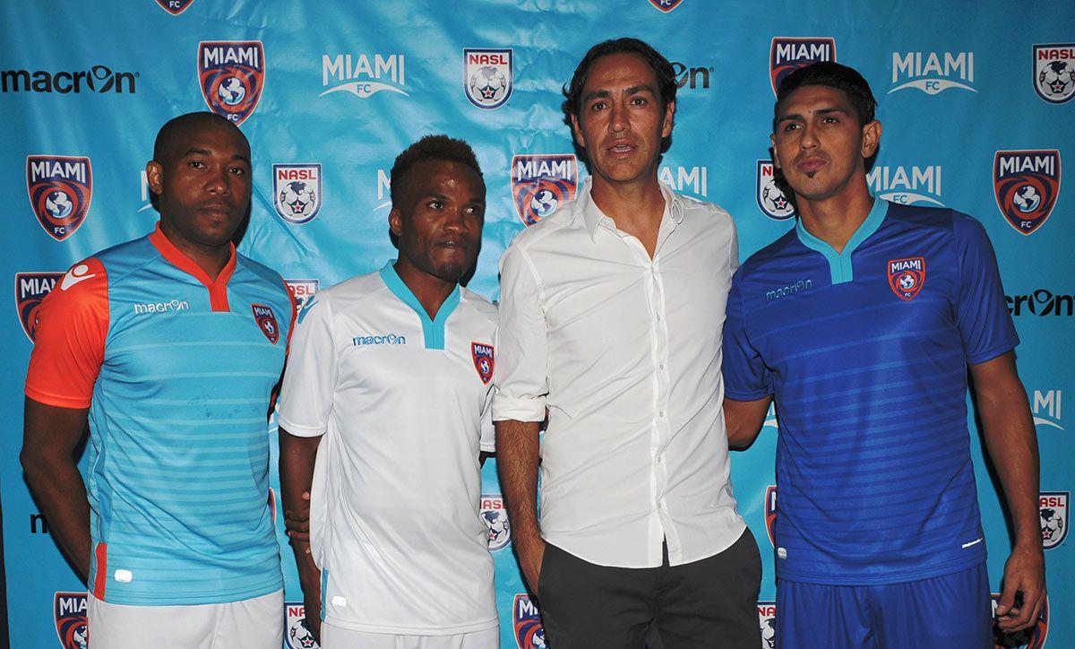 Presentazione maglie Miami FC 2016-17