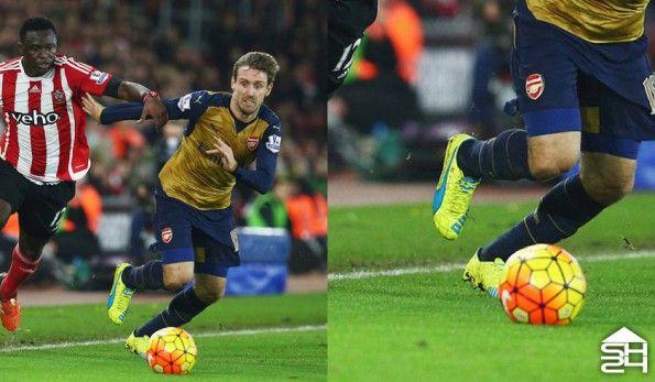 Nacho Monreal (Arsenal) - Puma EvoSpeed 1.4
