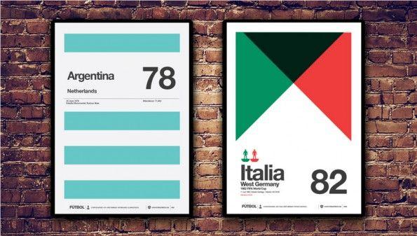 Poster Argentina 1978 Spagna 1982