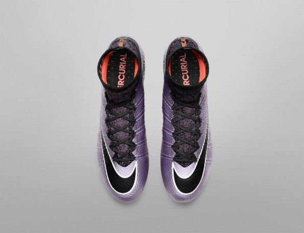 Nike Mercurial Superfly lilla Liquid Chrome