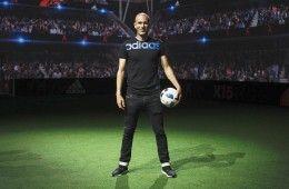 Zidane nella Future Arena a Parigi