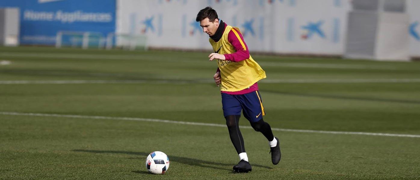 Messi prova le MESSI 16