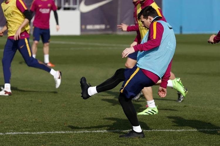 Messi indossa prototipo PureAgility