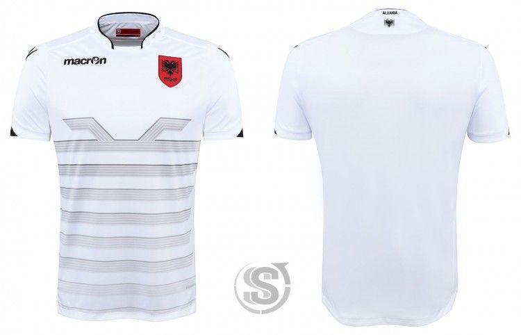 Albania, seconda maglia Euro 2016