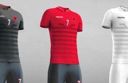 Kit Albania 2016 Macron