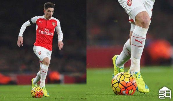 Hector Bellerin (Arsenal) - Puma EvoSpeed 1.4