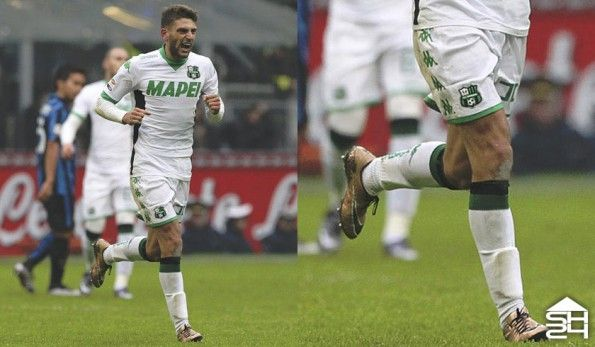 Domenico Berardi (Sassuolo) - Nike HyperVenom Phinish