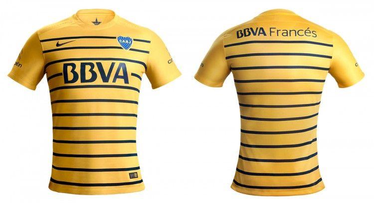 Seconda maglia Boca Juniors 2016