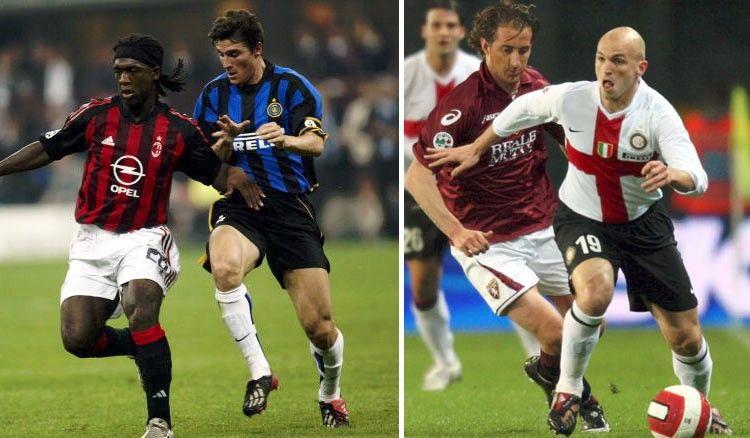Maglie Inter 2002-03 e 2007-08